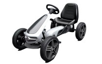 Licensed Mercedes Pedal Go Kart White