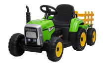 Tractor & Trailer - 12V Kids' Electric Ride On Tractor